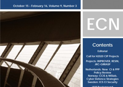 European CIIP Newsletter (ECN)